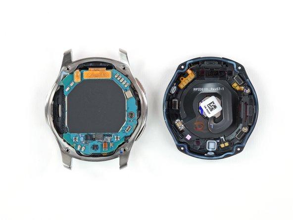 Procedimiento de apertura del Galaxy Watch