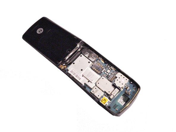 Motorola W490 Lower Metal Frame Replacement