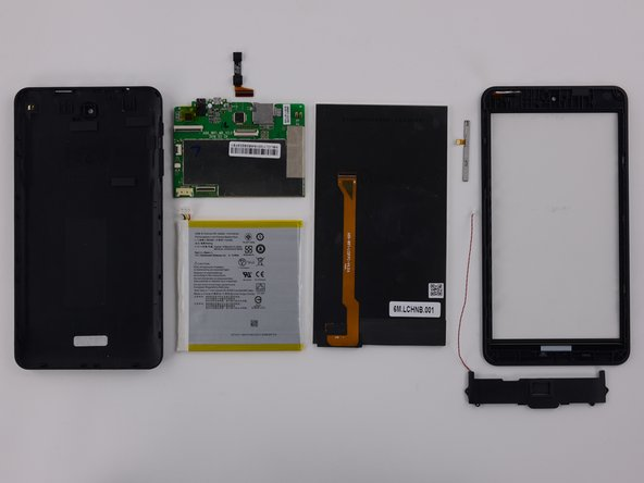 The Acer Iconia One 7 earns an 8 out of 10 on our repairability scale (10 is the easiest to repair):