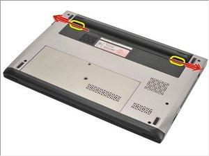 Dell Vostro V131 Remoción de batería