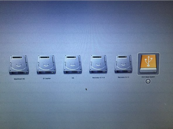 Once this process has been completed, eject your USB drive and shut down your Mac.