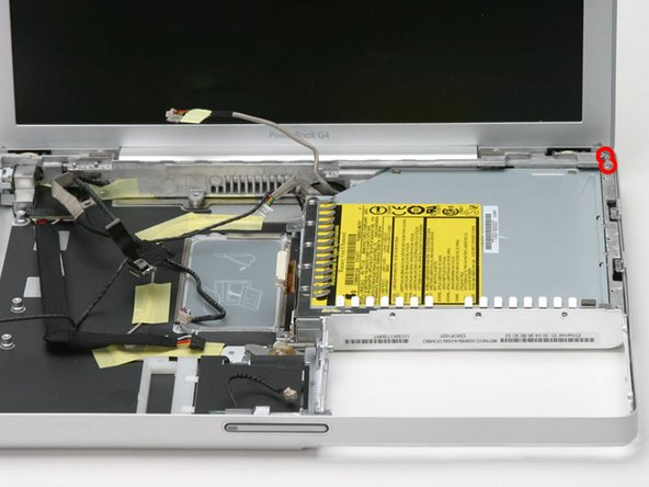 "PowerBook G4 Aluminum 12"" 867 MHz Optical Drive Replacement"