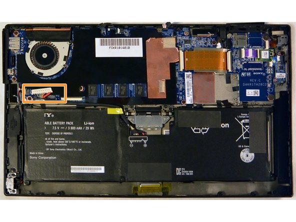 Sony Vaio Tap 11 Battery Replacement