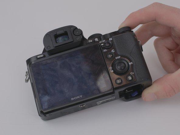 Remplacement de l'écran LCD du Sony a7