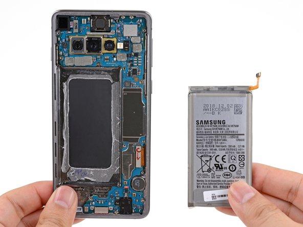 Remplacement de la batterie du Samsung Galaxy S10