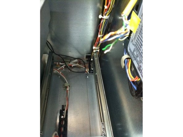 Check the opt cords to make sure they aren't broken or crimped
