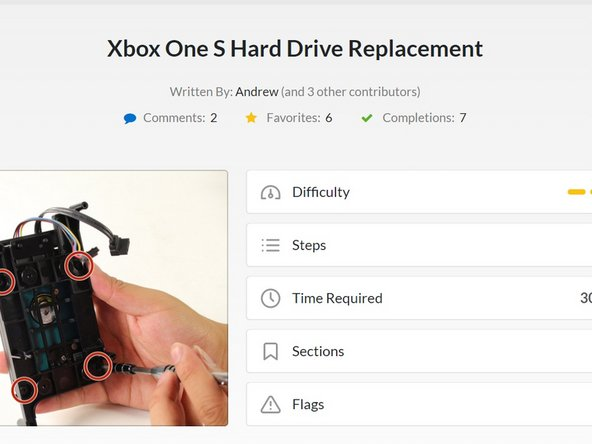Before beginning this guide, it is best to read through the steps for the hardware portion, as shown by iFixit user Andrew, at the following link.