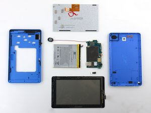 Amazon Fire Tablet (5th Generation) Repairability Assessment