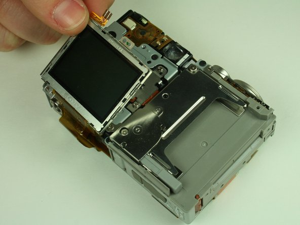 Remove the LCD screen and set it aside.