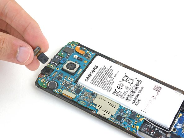 Remplacement de la caméra frontale du Samsung Galaxy S6 Edge