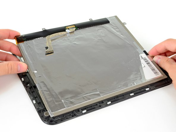 Lift up the LCD assembly and remove it from the front panel.