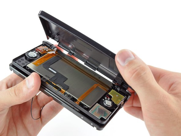 Nintendo 3DS Rear Display Bezel Replacement