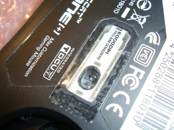 Fixing Wheel Glitch on Mouse Roccat Kone[+] Plus