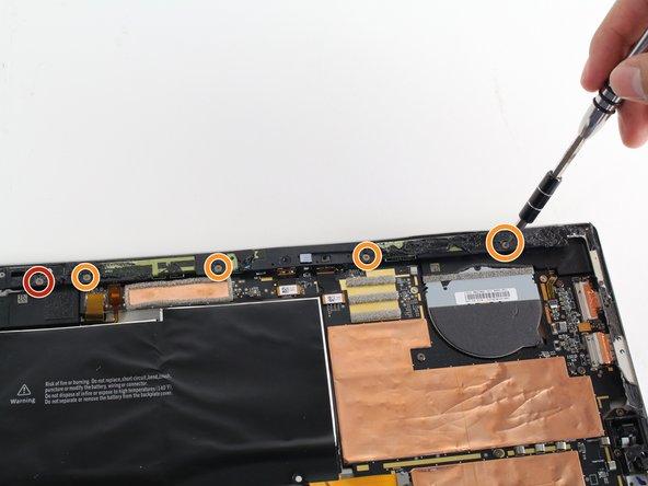 Microsoft Surface Pro 3 背面カメラの交換
