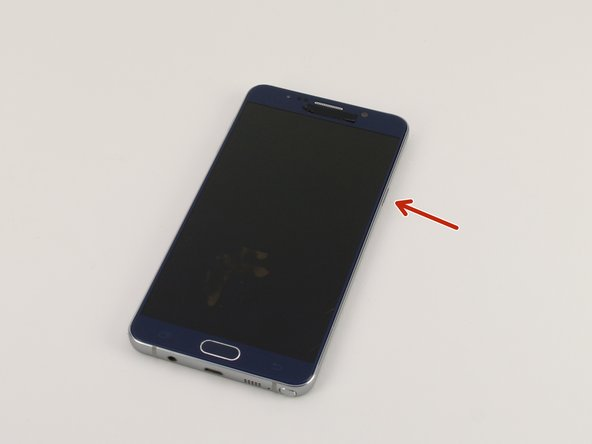 Samsung Galaxy Note5 Power Button Replacement