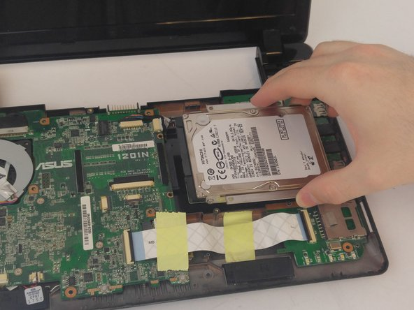 Asus Eee PC 1201N Hard Drive Replacement
