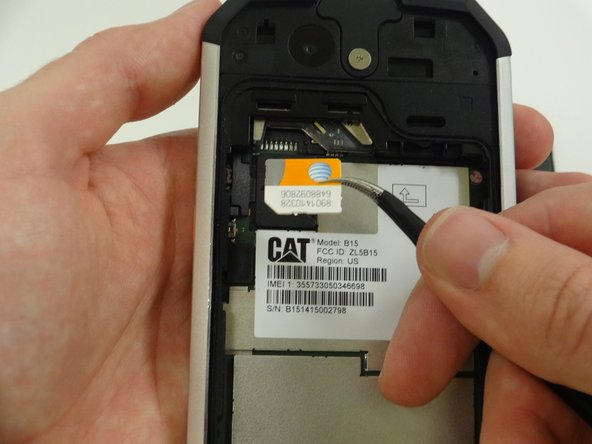Caterpillar B15 SIM Card Replacement