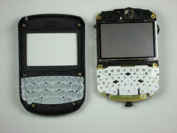 Turn the internals over to reveal the LCD display.