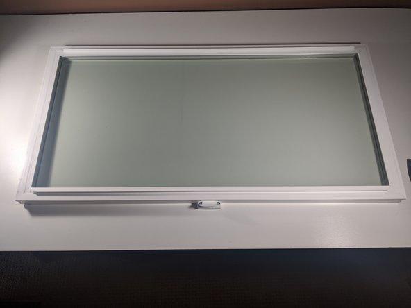 Vinyl Slider Window Sash Glass Pane Replacement