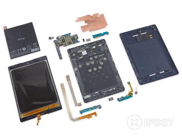 Nexus 9 Repairability: 3 out of 10 (10 is easiest to repair)
