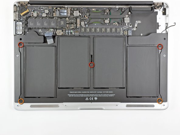 """MacBook Air 13"""" Late 2010 Battery Replacement"""