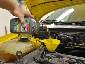 2005-2007 Ford Focus Oil Change