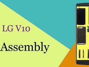 LG V10 Reassembly