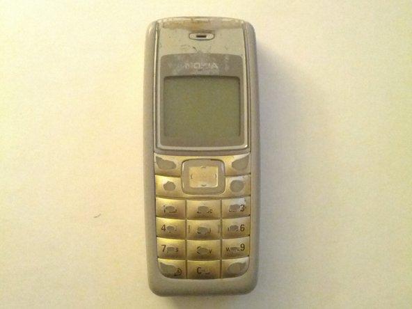 Disassembling Nokia 1110i (RH-93) made in Hongrie