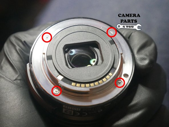 Remove the 4 screws -(4 x 6mm)