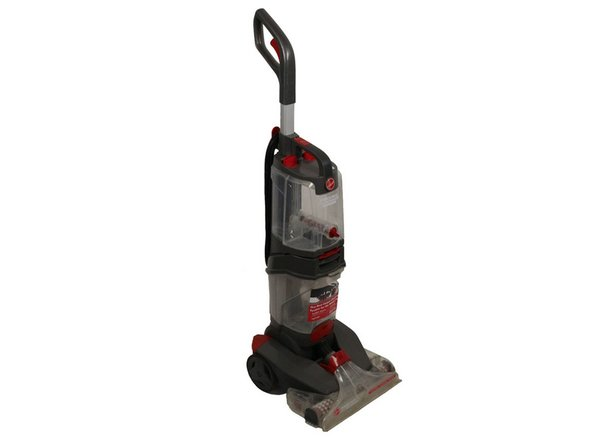 Unplug the vacuum cleaner from the wall outlet before starting.  Make sure the water tanks are empty.