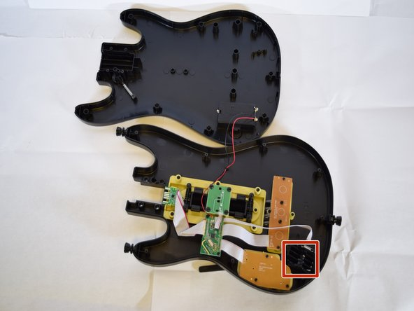 These are the whammy bar components, we highly recommend removing these components before working on other areas of the body as the whammy bar protrudes making it difficult to rest on a flat surface.