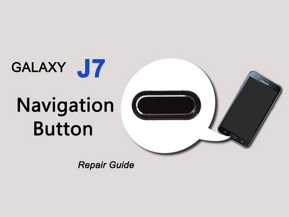 Samsung Galaxy J7 Home Button (video) Replacement