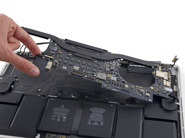 "MacBook Pro 15"" Retina Display Mid 2015 Logic Board Assembly Replacement"
