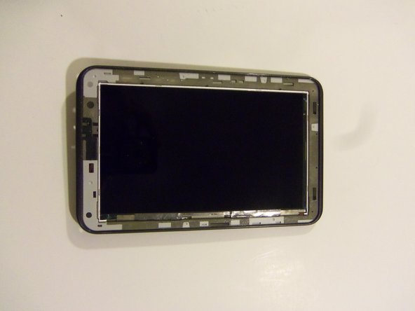 Congratulations, this is what your device should look like after the touch screen has been removed.