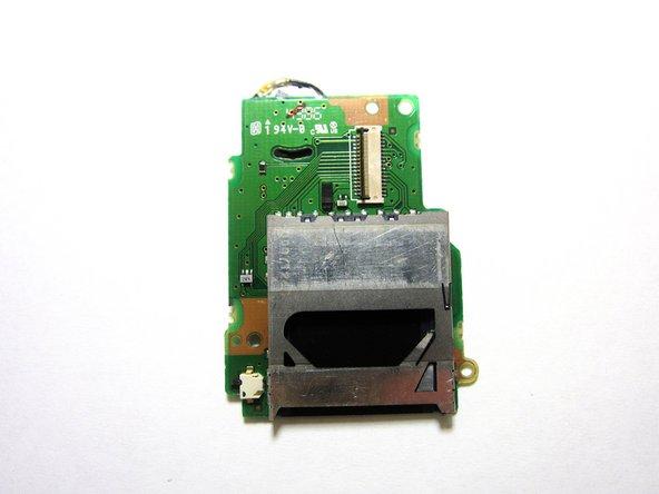 Canon PowerShot A550 SD Card Reader