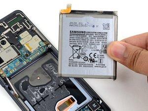 Remplacement de la batterie du Samsung Galaxy S20 Ultra