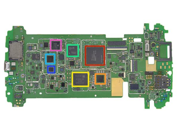 Finally, the part we've all been waiting for! Let's identify some of the ICs that power this Nexus: