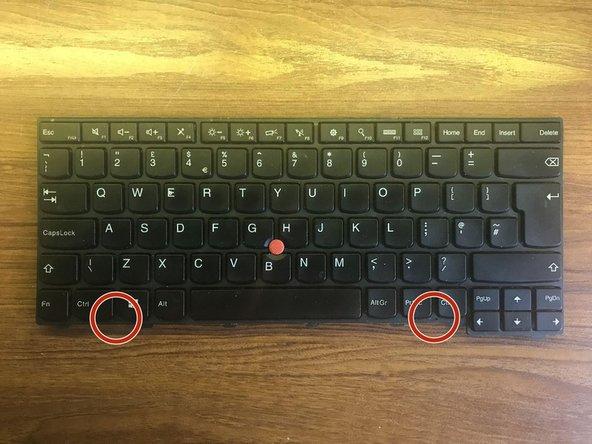 Lenovo Thinkpad Keyboard Cleaning