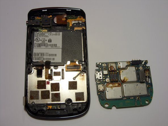 Blackberry Bold 9650 Mother Board Replacement