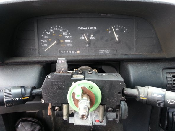 Repeat the steps in opposite order to put the steering wheel back together.
