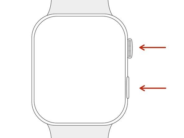 Comment forcer le redémarrage de l'Apple Watch Series 4