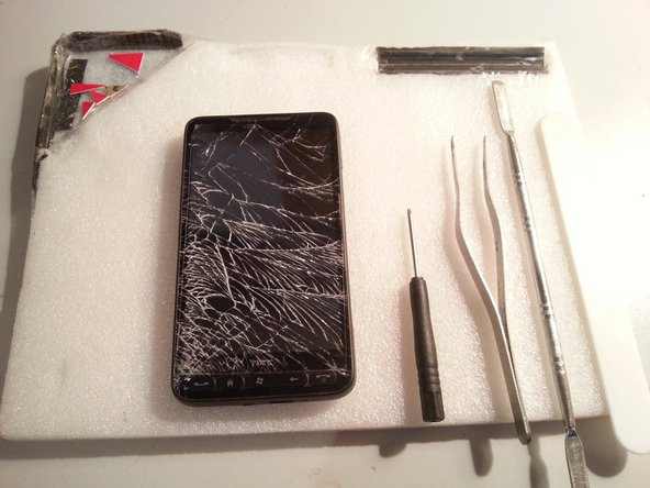 HTC HD 2 Front Panel Replacement