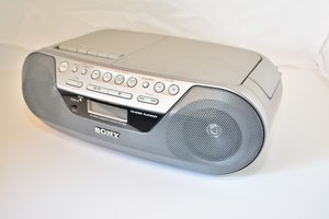Riparazione Sony Radio CD player and cassette player CFD-S05