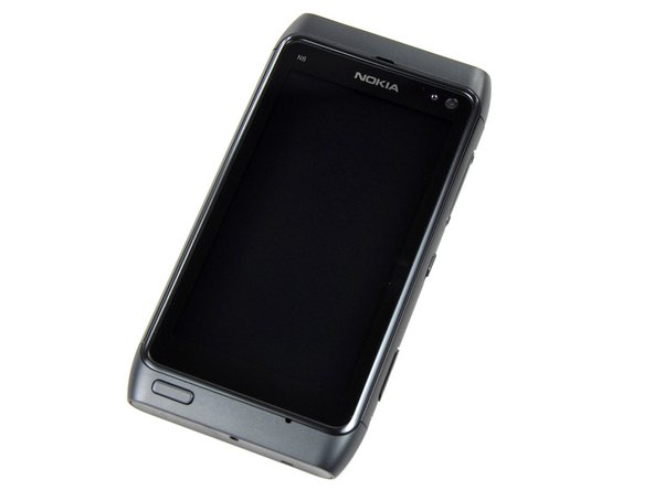 Our latest victim -- Nokia's just-released N8.