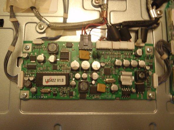 Apple Studio Display M2454 LCD Main Board Replacement