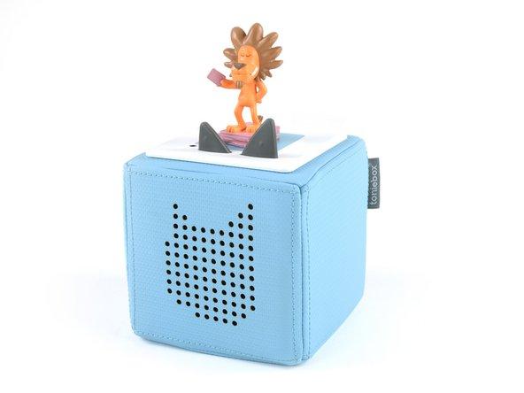 Die Toniebox ist als Abspielgerät für Hörspiele für Kinder ab 3 Jahren konzipiert und hat so einige Features: