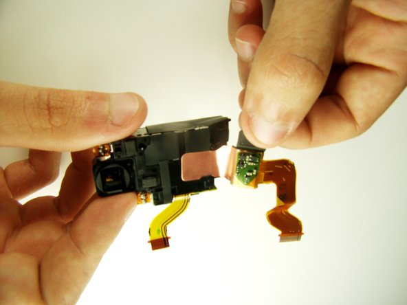 Sony Cyber-shot DSC-T1 CCD chip Replacement