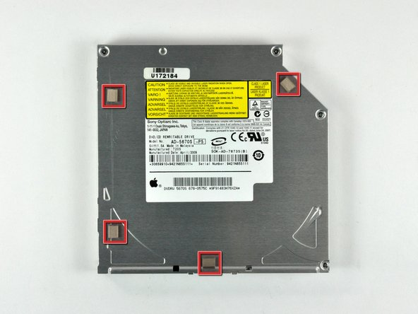 Mac mini Model A1283 Optical Drive Replacement