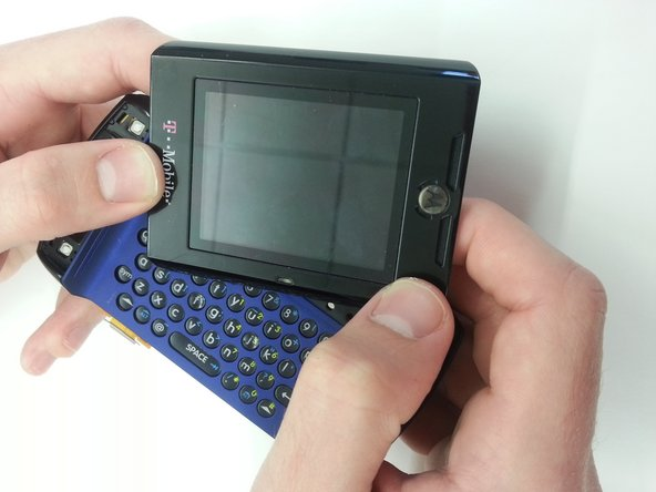 Motorola Q700 Sidekick Keypad and Front Cover Replacement