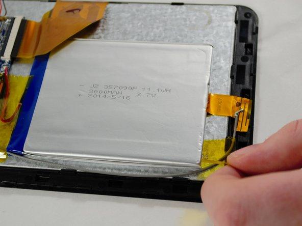 Hott T725-8G Battery Replacement